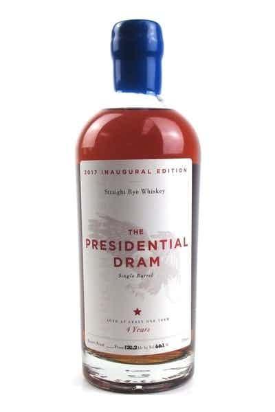 The Presidential Dram Single Barrel Straight Bourbon Whiskey