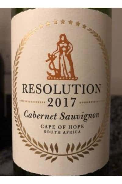 The Resolution Cabernet Sauvignon