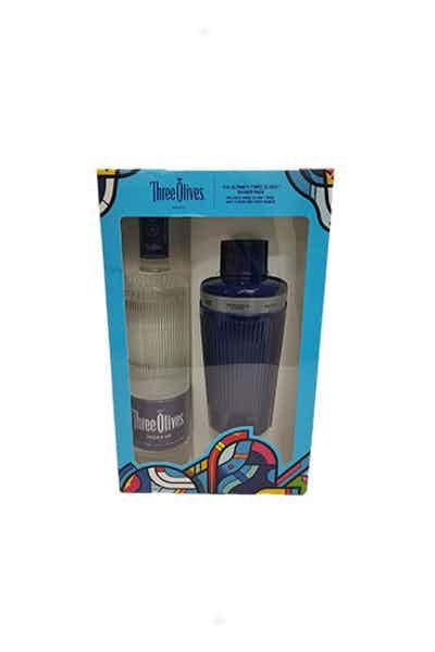 Three Olives Vodka Gift Set w/ Shaker