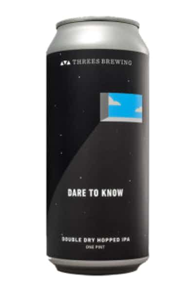 Threes Brewing Dare To Know