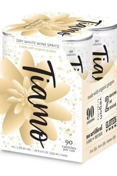 Tiamo Organic Dry White Wine Spritz NV