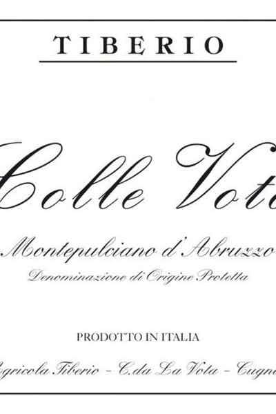 Tiberio Colle Vota Montepulciano d'Abruzzo