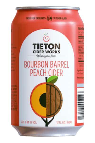 Tieton Bourbon Barrel Peach Cider