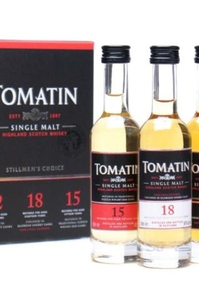 Tomatin Gift Set (12 Year, 15 Year, 18 Year)