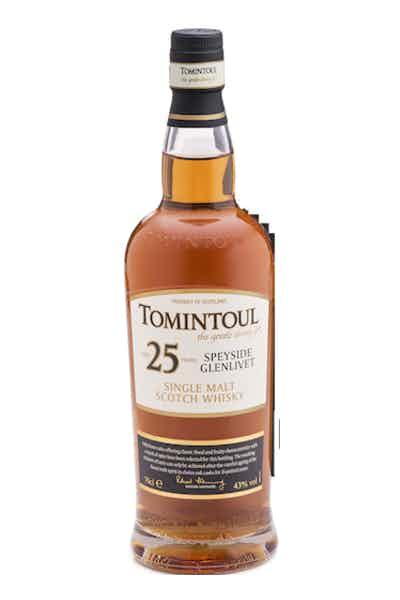 Tomintoul 25 Year Single Malt Scotch Whiskey