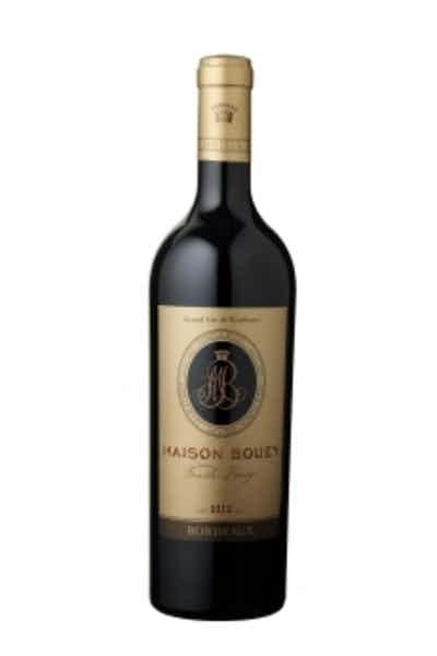Tresor De Famille Bouey Cotes De Bordeaux