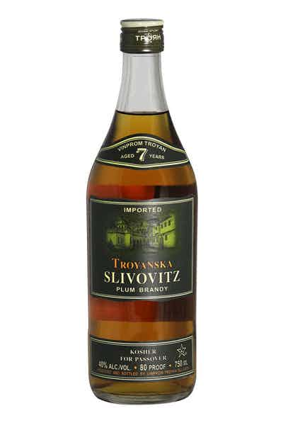 Troyanska Plum Brandy Kosher For Passover 7 Year