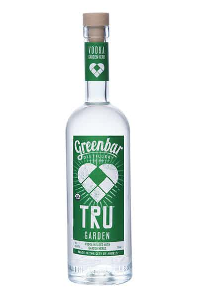Tru Garden Vodka from Greenbar Distillery