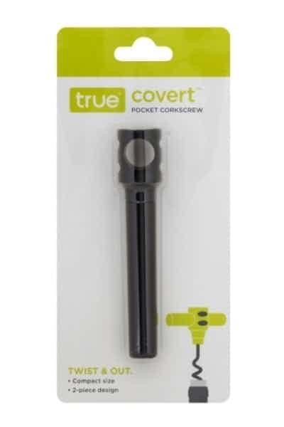 True Covert Pocket Corkscrew in Black