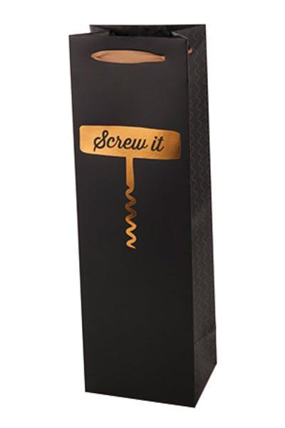 True 'Screw It' One Bottle Wine Bag