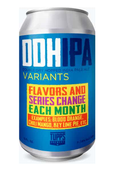 TUPPS DDH VARIANT IPA (Monthly rotating series)