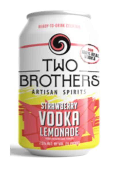 Two Brothers Strawberry Vodka Lemonade