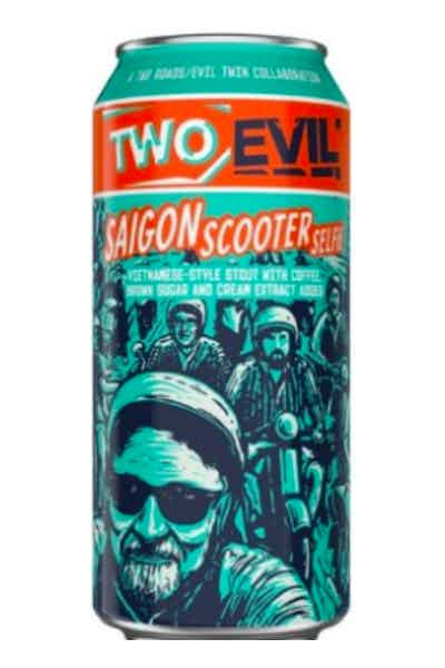 Two Evil: Saigon Scooter Selfie Coffee Stout