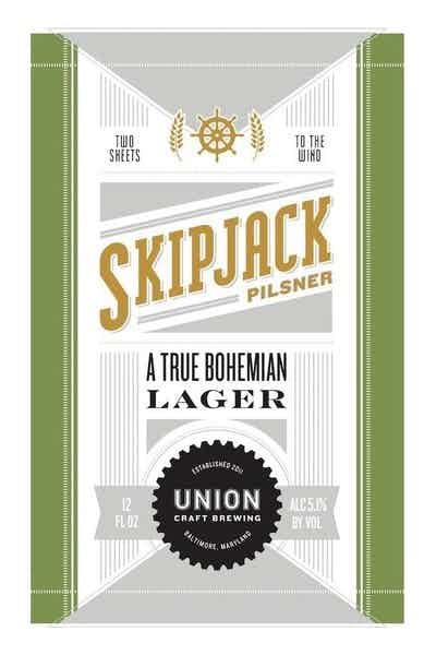 Union Craft Brewing Skip Jack Pilsner