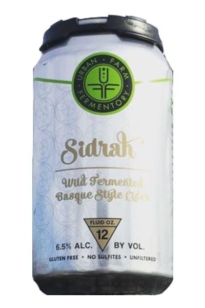 Urban Farm Fermentory Sidrah