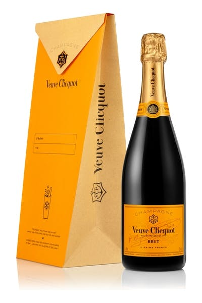 Veuve Clicquot Yellow Label Ice Letter