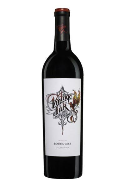 Vintage Ink Red Wine