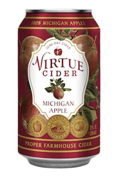 Virtue Cider Michigan Apple