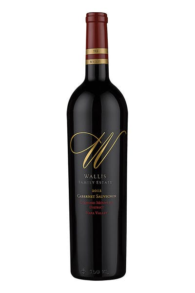 Wallis Family Estate Cabernet Diamond Mountain