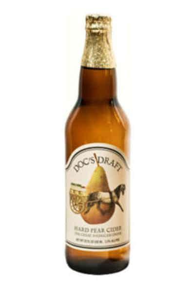 Warwick Docs Pear Doc's Draft Hard Pear Cider