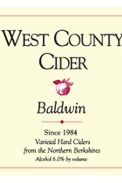 West County Baldwin Cider