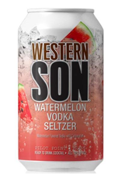 Western Son Watermelon Vodka Seltzer