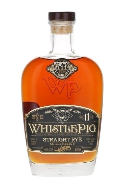 WhistlePig 11 Year Rye Whiskey