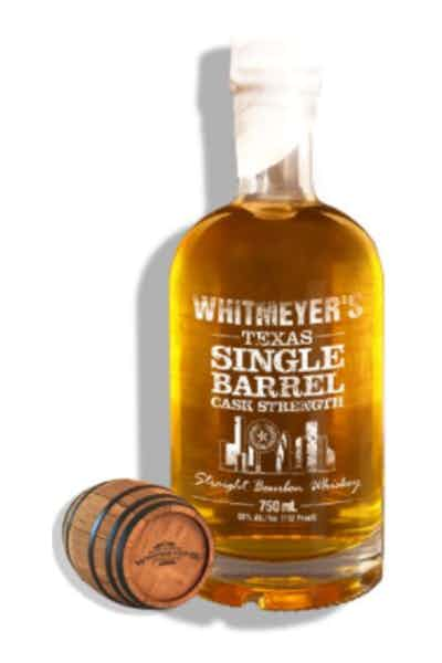 Whitmeyer Single Barrel Bourbon 112°
