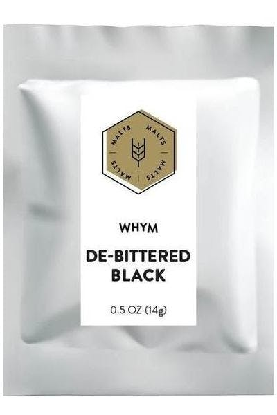 WHYM De-Bittered Black Malt