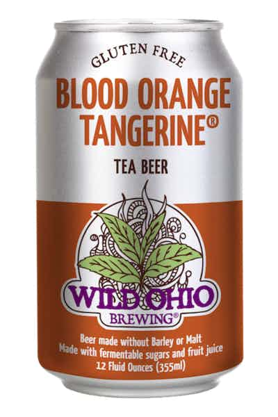 Wild Ohio Blood Orange Tangerine Tea Beer