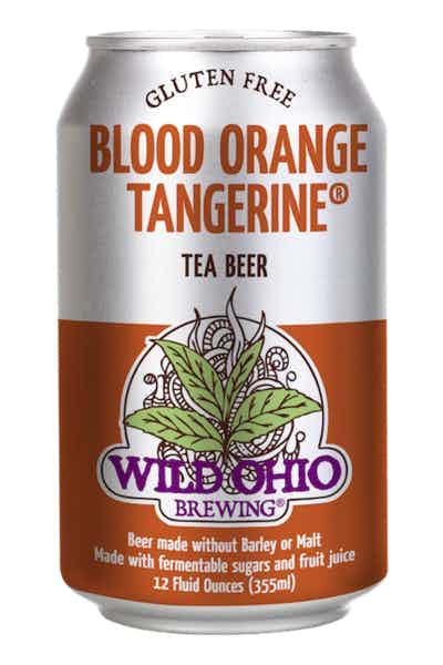 Wild Ohio Blood Orange Tangerine Tea Beer