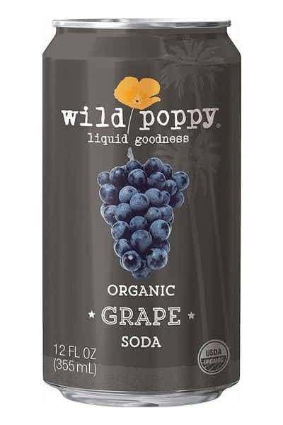 Wild Poppy Organic Grape Soda