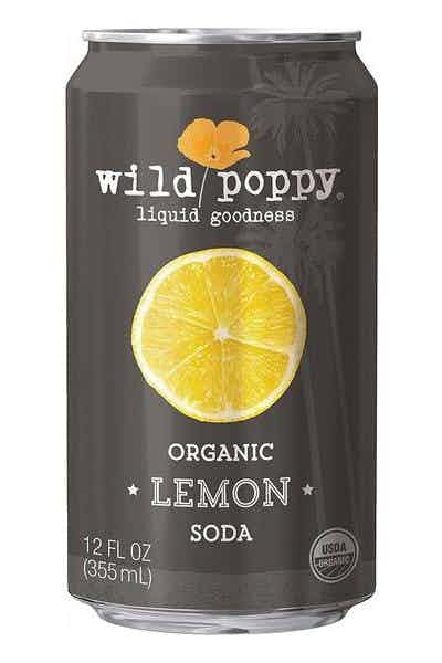 Wild Poppy Organic Lemon Soda