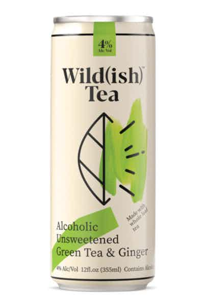 Wild(ish) Alcoholic Unsweetened Green Tea And Ginger
