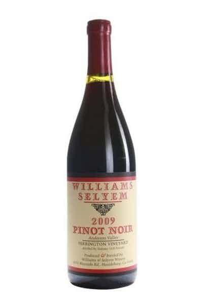 Williams Selyem Pinot Noir Ferrington Vineyard 2005