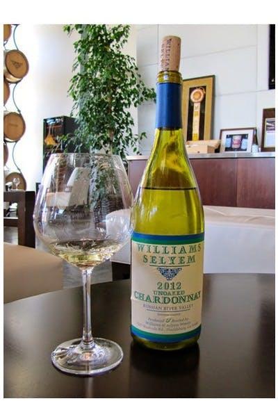 Williams Selyem Unoaked Chardonnay