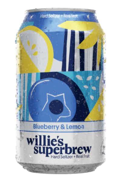 Willies Superbrew Hard Seltzer Blueberry & Lemon Single