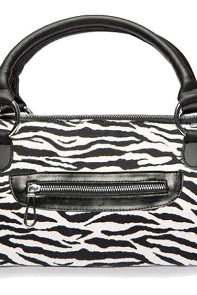 Wine Purse Fashion Zebra