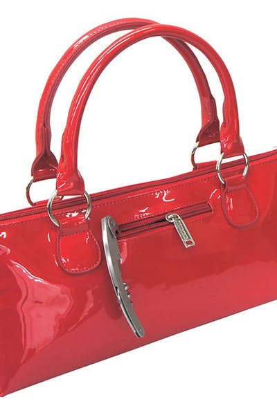 Wine Purse Insulated  Candy Red