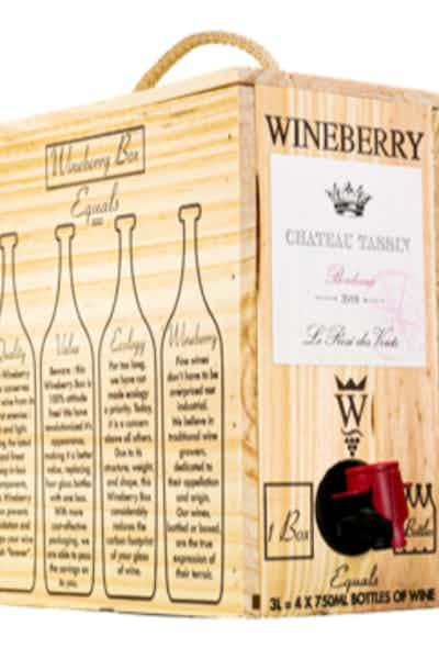 Wineberry Box Chateau Tassin Red