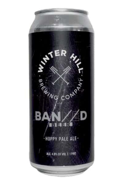 Winter Hill Banned Hoppy Pale Ale