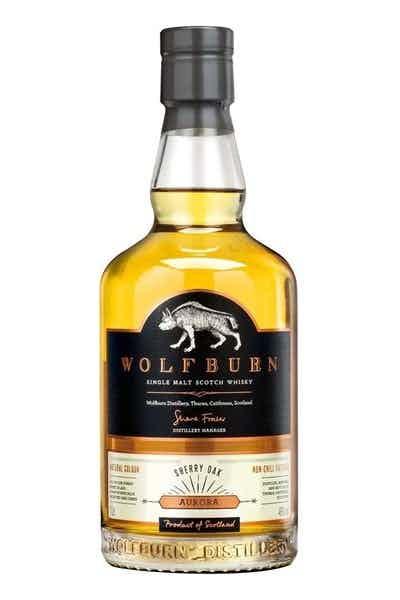 Wolfburn Aurora Sherry Oak Single Malt Scotch Whiskey