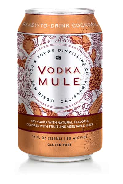 You & Yours Vodka Mule Canned Cocktail