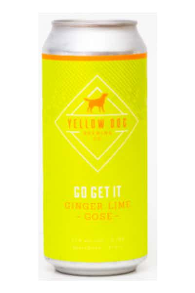 Yellow Dog Go Get It Ginger Lime Gose