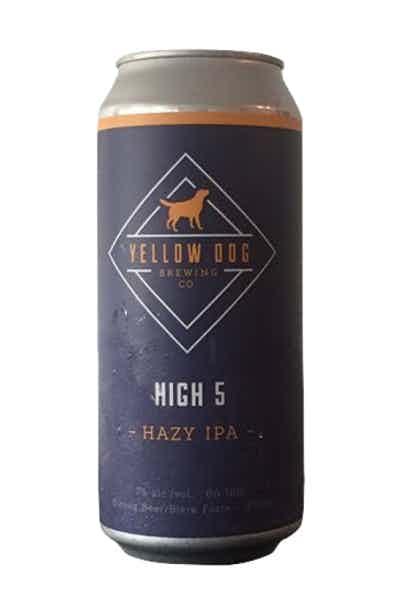 Yellow Dog High 5 Hazy IPA