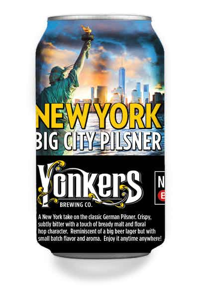 Yonkers New York Big City Pilsner